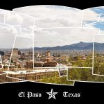 El Paso Downtown Panoramic Collage